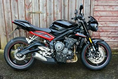 Triumph Street Triple R Low Best Selling Street Naked Bike With Tail Tidy