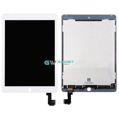 Pour Apple IPAD Air 2 A1566 A1567 Blanc Remplacement LCD Touch Digitizer GB