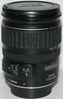 Canon EF 28-135mm f/3.5-5.6 IS USM lens in excellent condition (made in Japan)