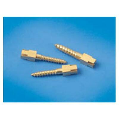 Dental Screw Posts Gold Plated Refill Long L3 12/Bx