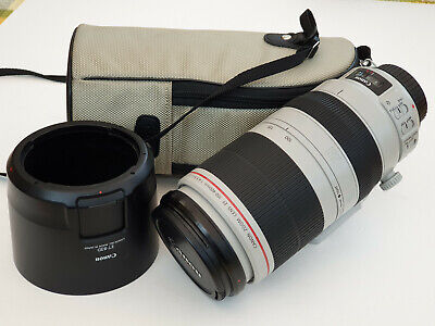 Canon EF 100-400mm F/4.5-5.6 L IS II USM Lens Excellent Condition