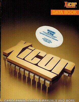 XICOR Data Book 1988