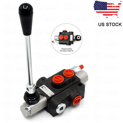 1 Spool Hydraulic Directional Control Valve 11 GPM 40L/min 31.5MPa for Machinery