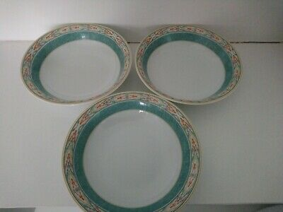 Wedgwood Aztec Home Cereal Oatmeal Bowls X 3