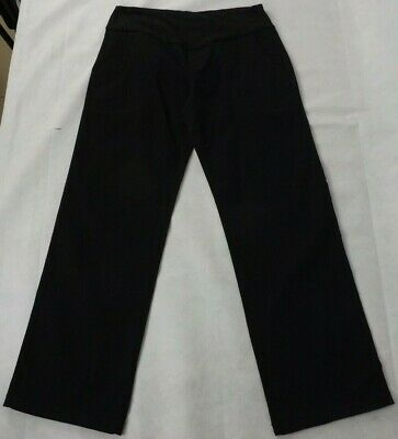 Ninth Moon Size 16 Maternity Jeans Black Straight Stretch BNWT