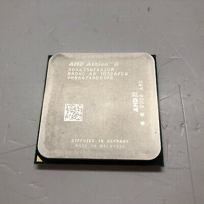 AMD Athlon II 2, Phenom, Phenom II 2, A6-3600, FX-700 Series CPU