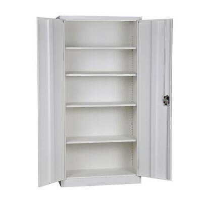 New Lockable Heavy Steel Metal Storage Cabinets Cupboards with 2 keys