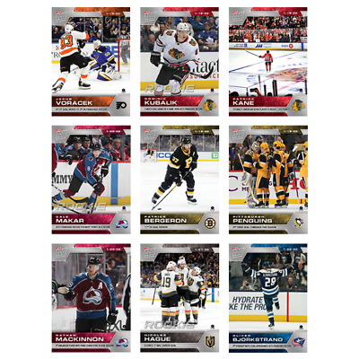 2019-20 Topps Now NHL Hockey Week 16 Pack of 9 Stickers - Only 746 packs made!