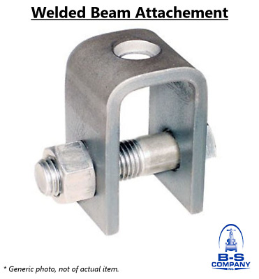 Welded Beam Attachment | 7/8 in Gray Protective Paint | Pipe Hangers & Supports