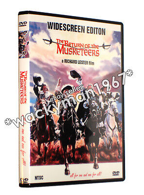 The Return of the Musketeers WS DVD (1989) Michael York Kim Cattrall REGION-FREE