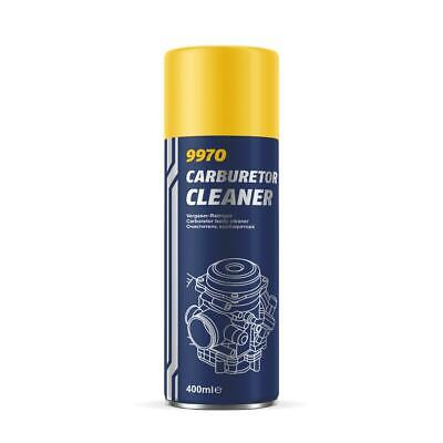 400ML MANNOL 9970 Carburetor Cleaner Spray Aerosol Engine Cleaner
