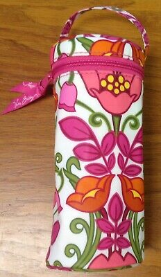 NEW Vera Bradley Lilli Lily Bell Belle Thermal Baby Water Bottle Caddy Holder