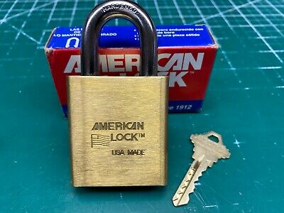 American 3700 Schlage Primus Everest Padlock Security Pins - Locksmith Locksport