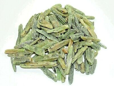 """Whoesale  Natural Green Kyanite Blades 0.7""""-1.5"""" - 100+ Pcs.-1 Pound.-Best Price"""