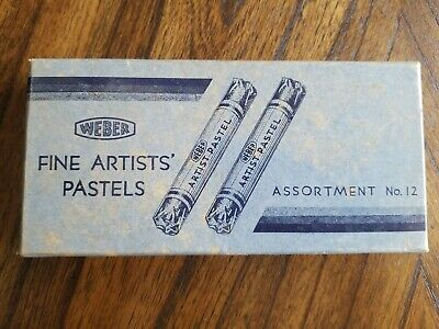 Vintage Weber Fine Artists Pastels, Assortment No 12