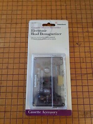 Vintage RadioShack Cassette Tape Electronic head Demagnetizer RARE NEW