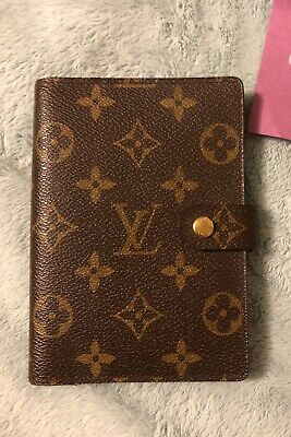Louis Vuitton Monogram Small Agenda Pm