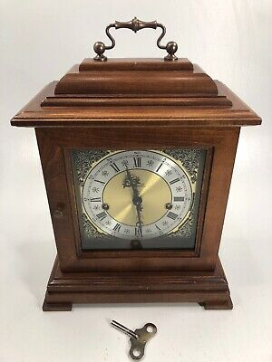 Franz Hermle Mantel Clock 1057-020 No Jewels West Germany Non Working