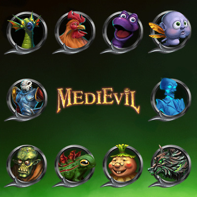 Medievil Remake 10 Avatars Pack PS4 PSN
