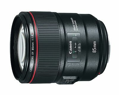 Canon EF 85mm f/1.4L IS USM DSLR Lens +IS Capability
