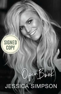 NEW!! Open Book (2020) JESSICA SIMPSON ++ AUTOGRAPHED ++