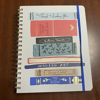 2020 Kate Spade Calendar Planner Stickers Notebook Goals Gratitude New