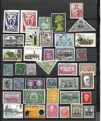 Worldwide Mint & Used Stamps $100.00+ Scott Value (0410220)