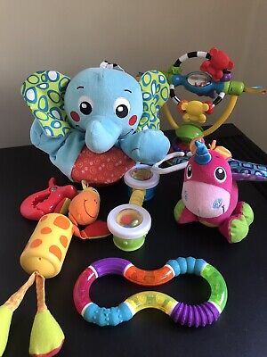 Playgro Elephant Musical Pullstring 0m+ & 5 other toys ( 6 pieces package)