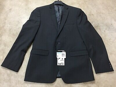 mens Bar III 3 active stretch slim fit suit jacket coat gray 12-19