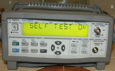 Agilent 53150A 20GHz CW Microwave Frequency Counter W/manuals /case