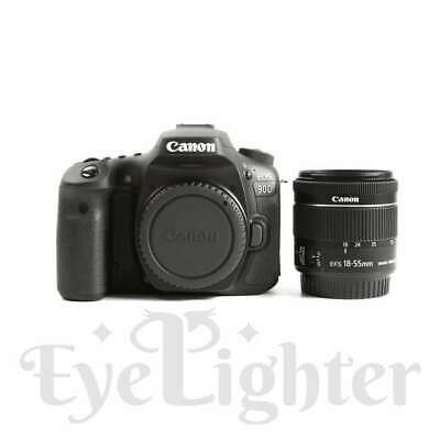 Authentisch Canon EOS 90D Digital SLR Camera + 18-55mm f/3.5-5.6 IS STM Lens