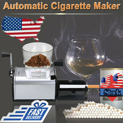 Cigarette Rolling Machine Electric Automatic Tobacco Roller Injector Makers Gift
