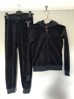 Girls amazing 'Juicy Couture' tracksuit, Age 14, fantastic condition, Navy