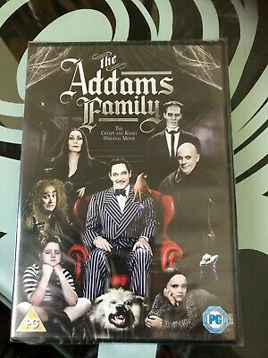 The Addams Family (DVD) Allegra Kent, Anjelica Huston