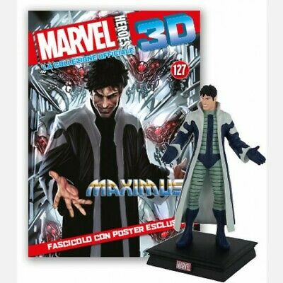 MARVEL HEROES 3D Uscita n° 127 Maximus The Mad Collezione ufficiale ACTIONFIGURE