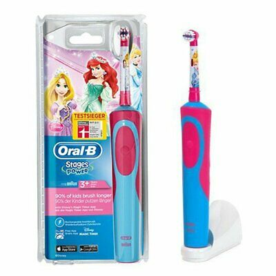 Oral-B D12.513 PRINCESS Stages Power rechargeable Kids toothbrush