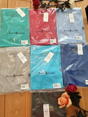 New Ralph Lauren Polo Men's Crew Neck Short Sleeve T-Shirt