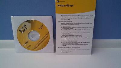 Norton Ghost 15 15.0 Full Version CD & Product Key (Windows 7)