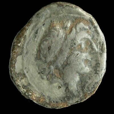 Roman Republican Anonymous AR Quinarius (211-208 Ac) - 13 mm / 1.40 gr.