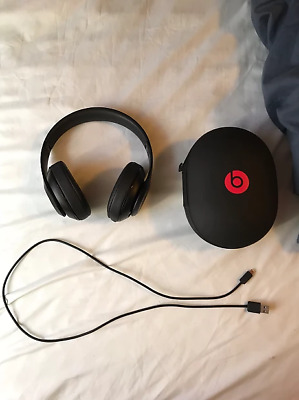 Beats by Dr. Dre Studio3 Wireless Bluetooth Ear-Cup Cuffie - Nero Opaco