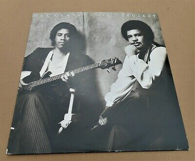 The Clarke/Duke Project: Self Titled EPC 84848 Vinyl LP 1981 Jazz Funk