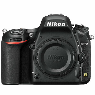 Nikon D750 24.3MP CMOS Digital SLR Camera (Body Only) No Wifi