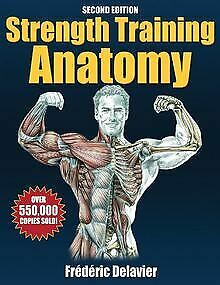 Strength Training Anatomy by Delavier, Frederic | Book | condition very good