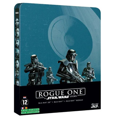 Rogue One : A Star Wars Story Edition Blu-ray 3D+Blu-ray  Steelbook Utra-Limitée