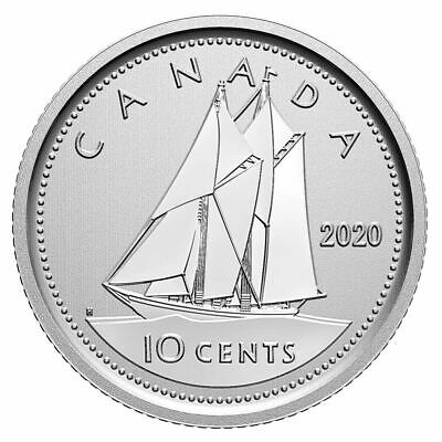 2020 Canada 10 cent dime coin Specimen finish from set  - COIN ONLY  in stock