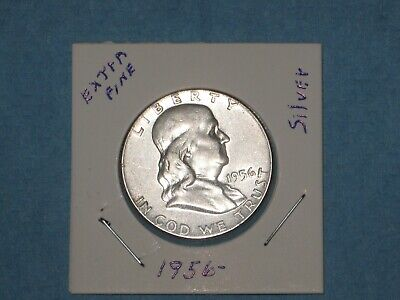 BU Key date 1956-P Franklin Half Dollar Brilliant Uncirculated