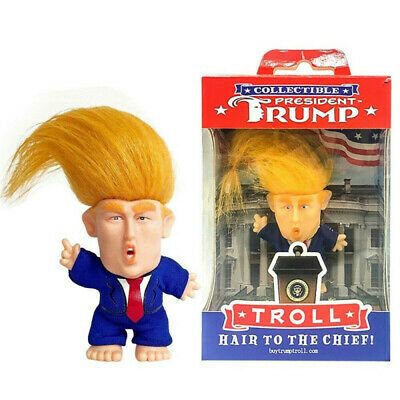 President Donald Trump Collectible Troll Doll Make America Great Again Figure H7
