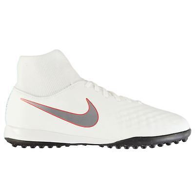 Nike Magista Obra Academy DF Astro Football Trainers Juniors White Soccer Shoes