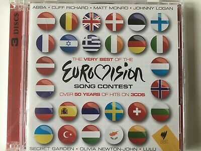 EUROVISION SONG CONTEST - The Best Of 3 x CD 2010 SBS / Universal AS NEW! 3CD