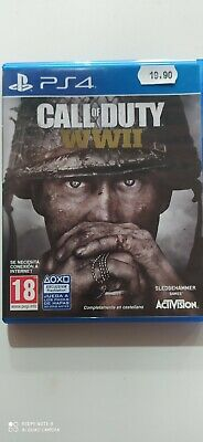 Call of Duty: WWII,multilingua (Sony PlayStation 4, 2017) Usato